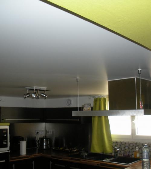 Plafond tendu à Candé sur Beuvron (41)